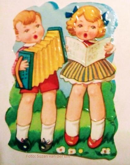 Poeziealbumversjes Kinderen spelen muziek