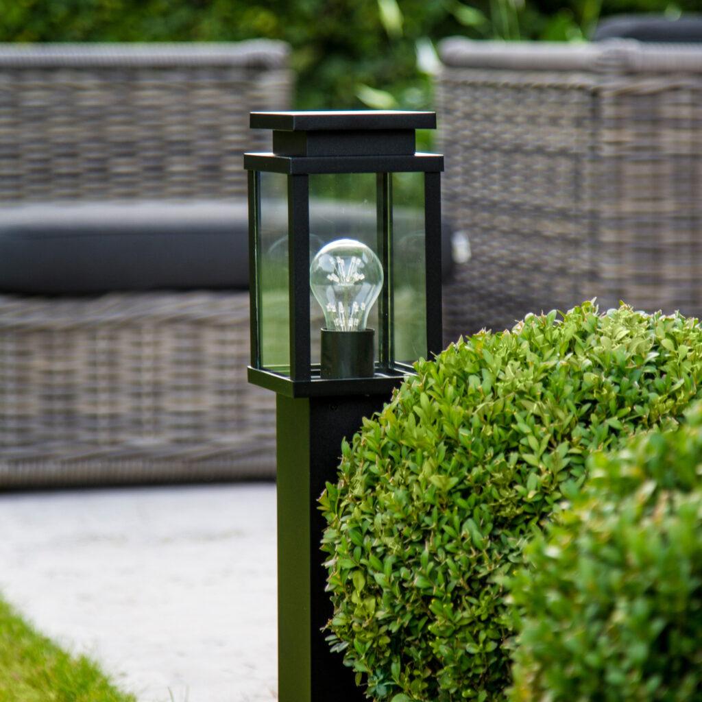 Moderne tuinverlichting. Foto: Notalux