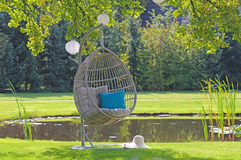 De hangstoel: een hippe verrijking voor je tuin u2013 wonen & interieur