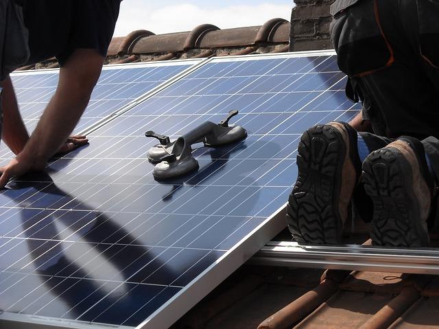 Foto: zonnepanelenmontage