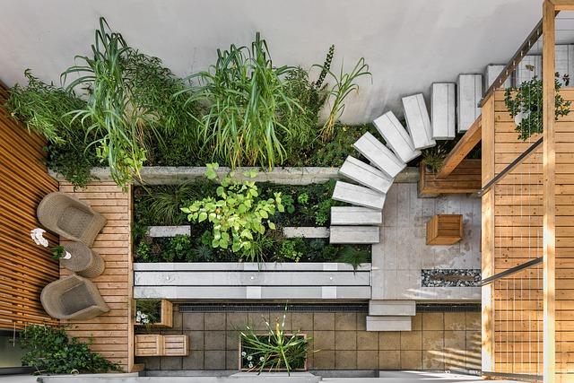 Moderne stadstuin. Foto: Onlinetarget