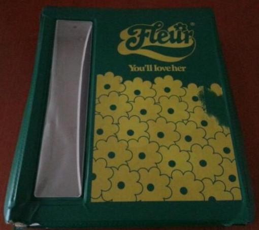 Laat ik nu precies dezelfde Fleur-koffer hebben gehad!