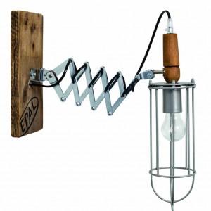 vintage uitrekbare wandlamp
